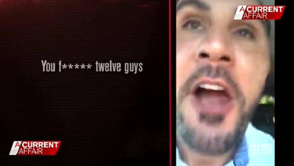 Salim Mehajer's video rage