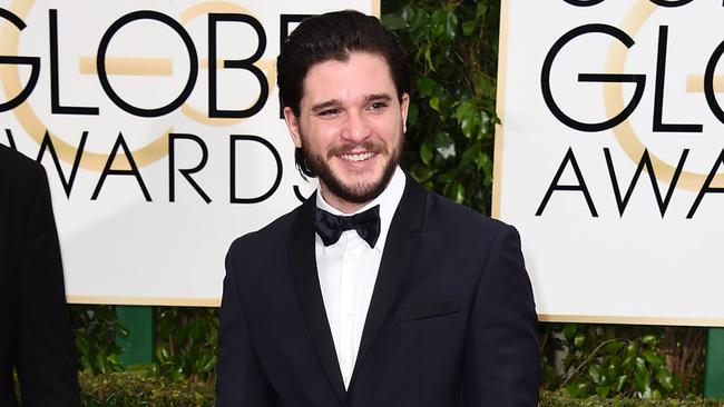 Winter is hot ... Game of Thrones star Kit Harington. Picture: AP