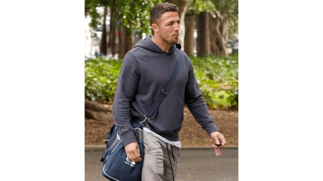 Sam Burgess has refused to comment on the scandal. Image: Chris Pavlich for the Daily Telegraph