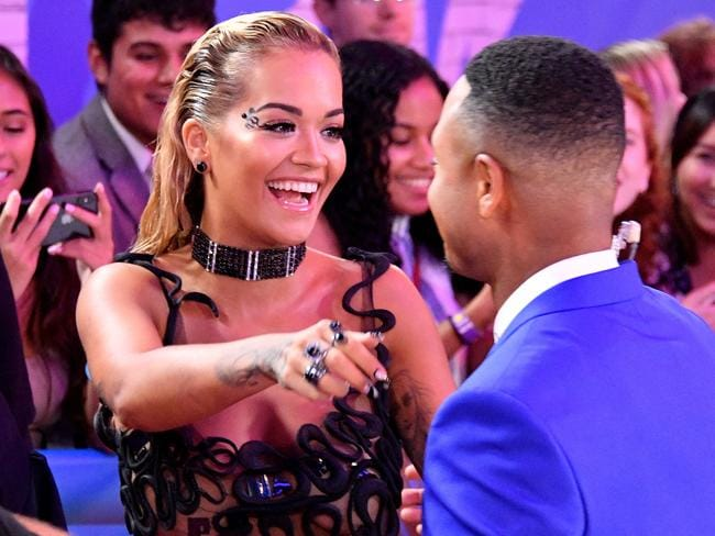 Rita Ora won Best Dance Video for her collaboration with the late Avicii. Picture: Getty