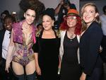 Bette Midler and her daughter attend The Blonds fashion show during New York Fashion Week. Picture: GETTY