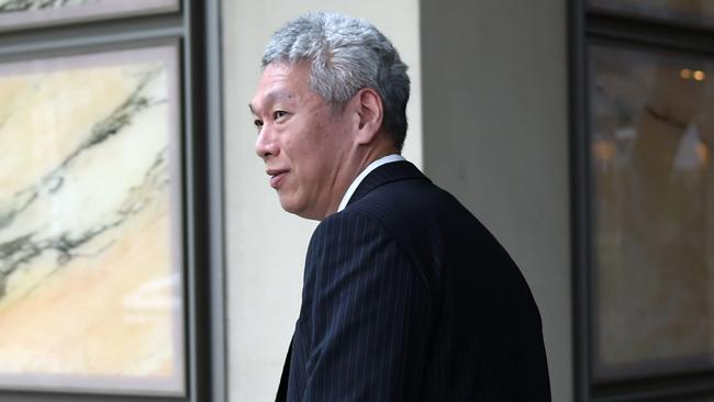 The Prime Minister's younger brother Lee Hsien Yang. The bitter family feud continues. Picture: AFP