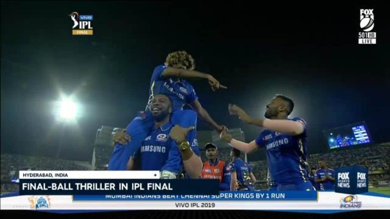 Indians win IPL on final ball