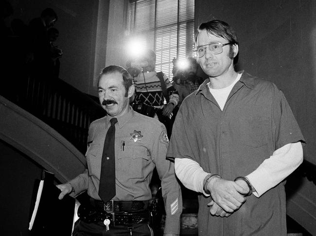 Cameron Hooker, who was with his wife when he abducted Colleen in 1977. Picture: AP Photo/Walt Zeboski