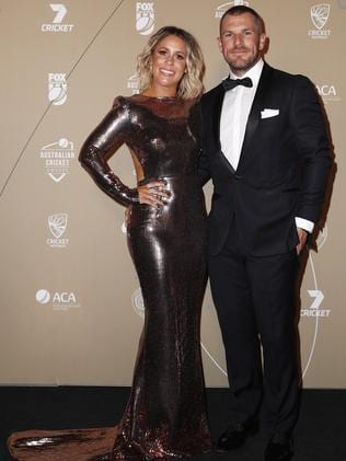 Aaron Finch and Amy Finch