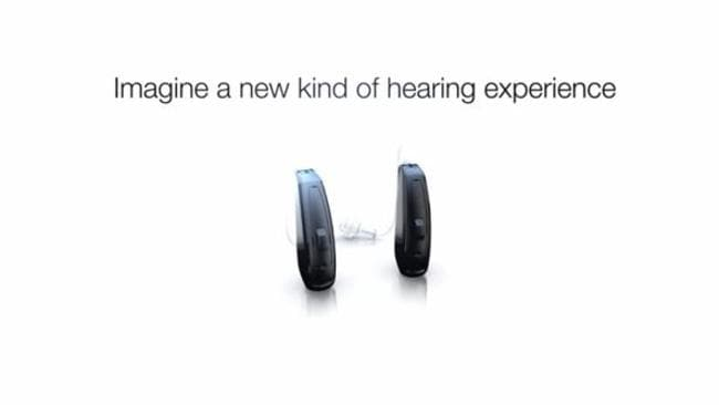 Changing times . the ReSound Linx hearing aid for the Apple iPhone.