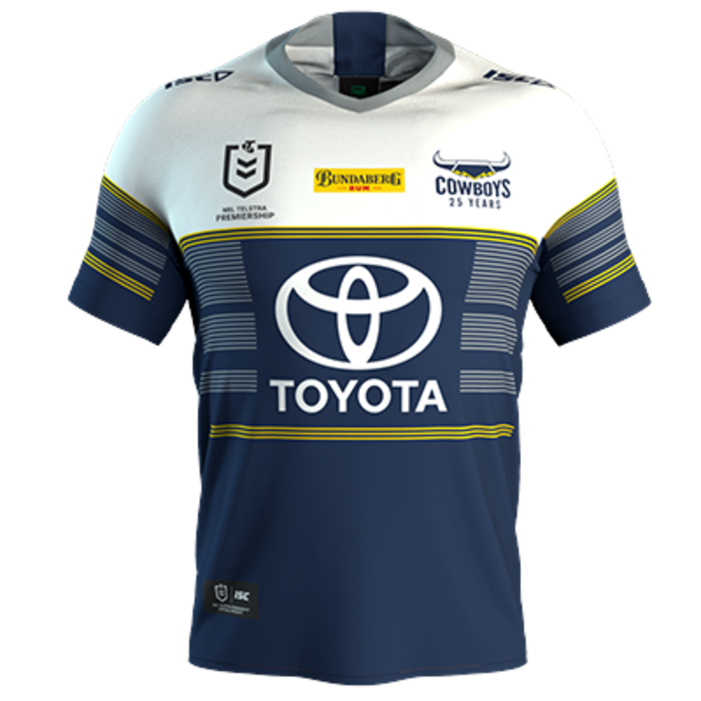 North Queensland Cowboys away jersey 2020.