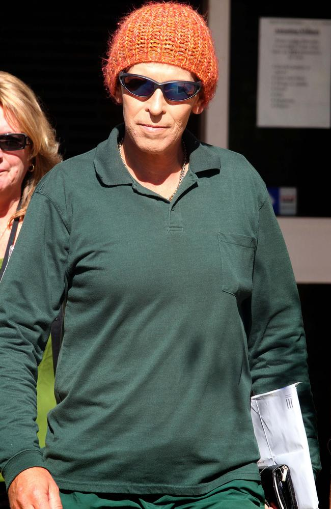 Maddison Hall (above), leaving Dillwynia prison in 2010, successfully sued Corrective Services for discrimination.