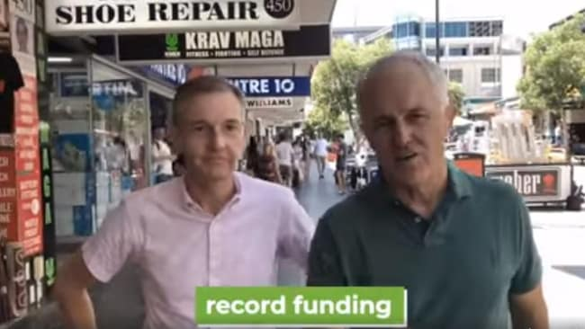 Malcolm Turnbull has recorded an endorsement video for NSW MP Bruce Notley-Smith.