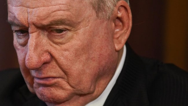 Radio broadcaster Alan Jones has come under intense scrutiny following his Jacinda Ardern comments. Picture: Supplied