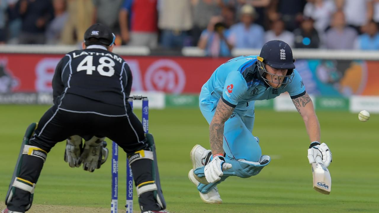 Ben Stokes should have been awarded five runs instead of six.