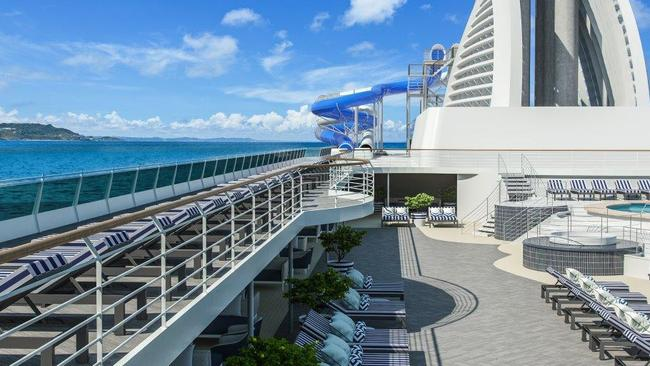 P&O will give Dawn Princess a new lease of life next year as the Pacific Explorer to be based out of Sydney. Picture: Supplied