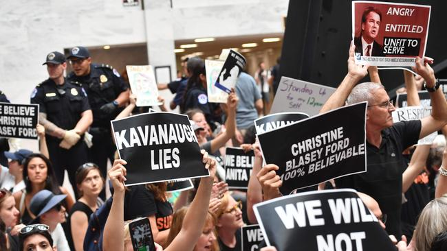 Despite the protests, top Republicans voiced confidence on Thursday that Brett Kavanaugh will be confirmed to the US Supreme Court this weekend.