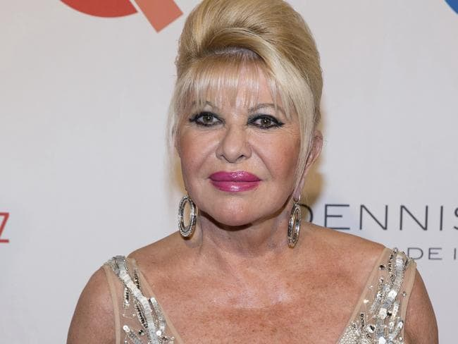 Ivana Trump joked she was the First Lady, which didn't impress the President's wife. Picture: Michael Zorn/Invision/AP