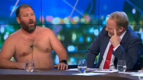 US comedian Bert Kreischer stunned The Project panel with a story about his daughter's period party