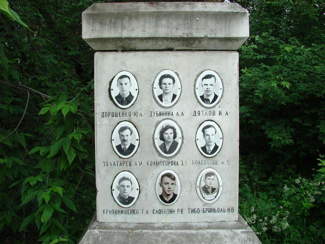 Pictures of the nine who died. Picture: Wikimedia