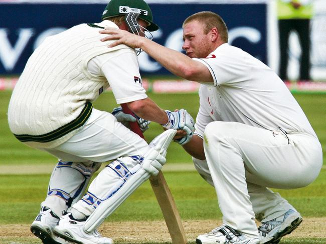 Flintoff was admired as much for his sportsmanship as his skill.