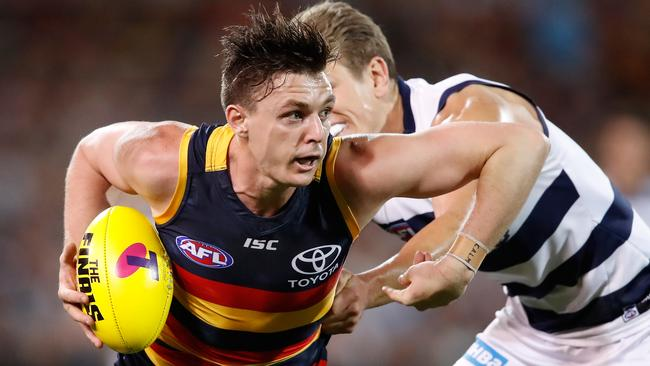 Jake Lever has moved from the Crows to the Cats.
