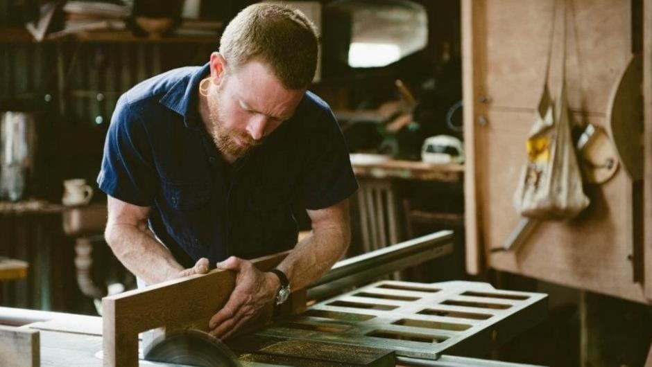 Blackheath Furniture Maker Michael Hoffman Uses Discarded Materials