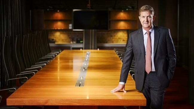 Seven CEO Tim Worner has been named as one of the 50 most powerful people in Australian television. Picture: News Corp Australia