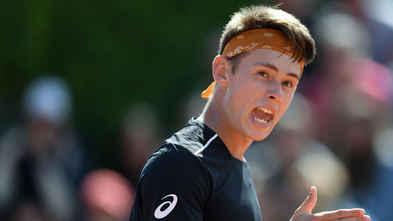 Alex De Minaur has broken into the top 100 world rankings for the first time.