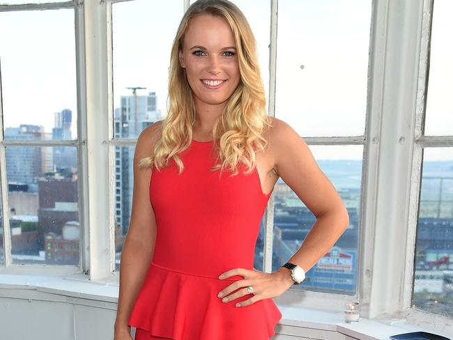 Caroline Wozniacki has moved on from her engagement split.