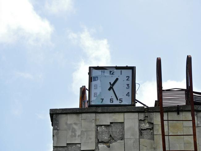 Time frozen on the fateful day. Picture: Anosmia.