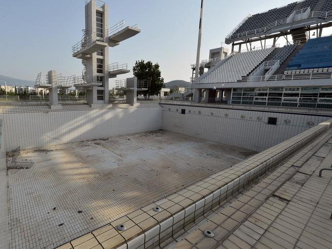 The Olympic Aquatic Centre. (Photo by Milos Bicanski/Getty Images)