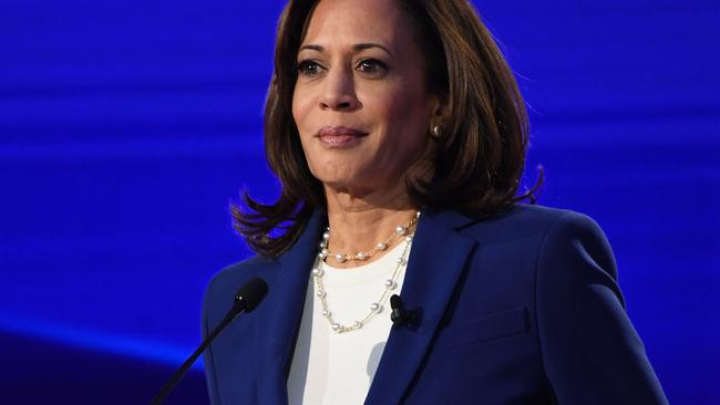 Mr Biden's VP pick? California Senator Kamala Harris. Picture: Saul Loeb/AFP