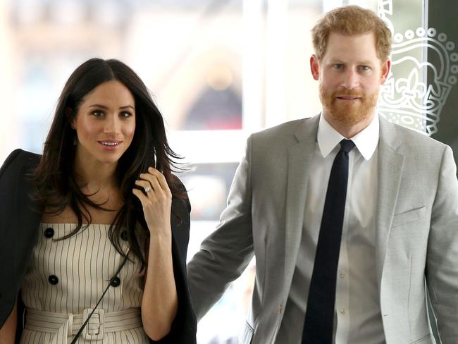 The new Duke and Duchess. Picture: Yui Mok/AFP