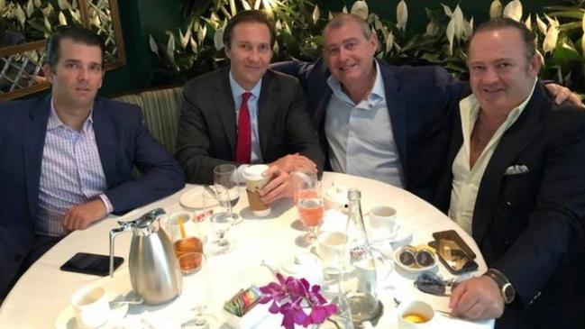 The two men with Donald Trump Jr.