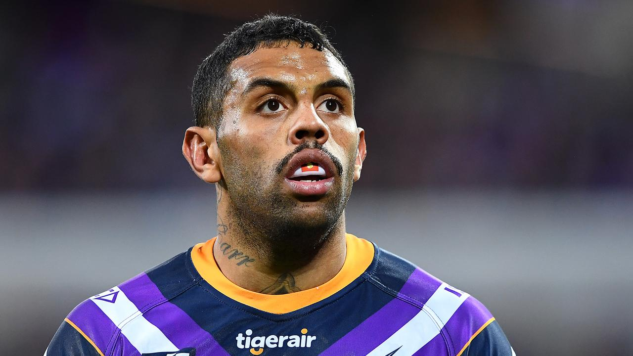 Josh Addo-Carr was devastated with his crucial error against the Raiders.