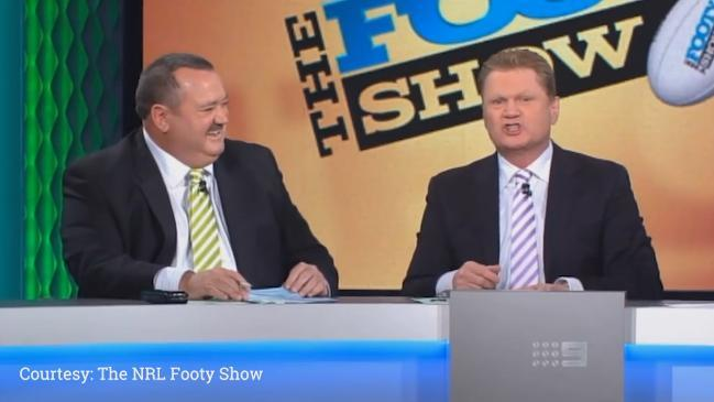 Fatty Vautin delivers hilarious Ray Warren impersonation