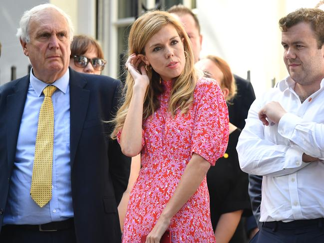 Boris Johnson S Girlfriend Carrie Symonds Steals The Spotlight
