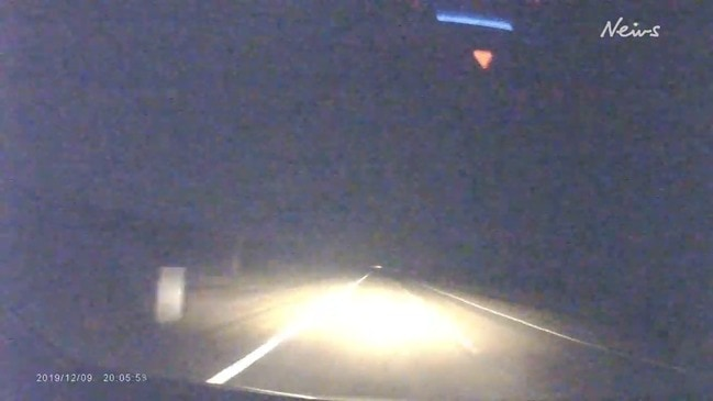 Incredible footage of meteor exploding over North Queensland beach caught on dashcam