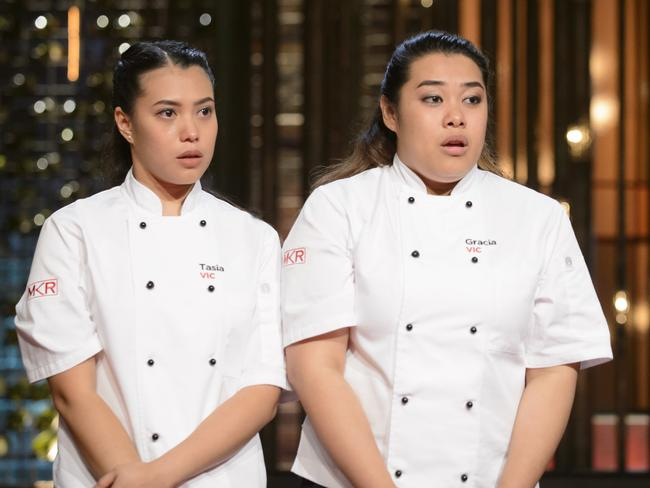 <i>My Kitchen Rules</i> 2016 winners sisters Tasia and Gracia Seger, of Victoria. Picture: Channel 7