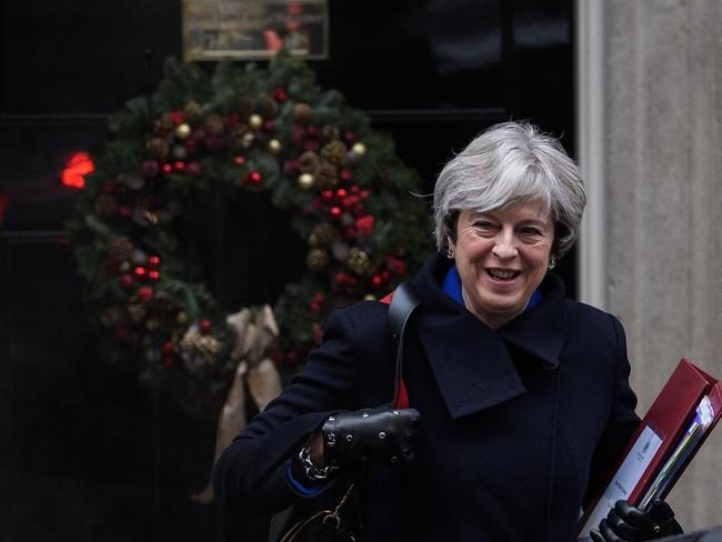 Theresa May faces opposition from hard line Eurosceptics in her Conservative Party over the EU's terms. Picture: Leon Neal/Getty Images