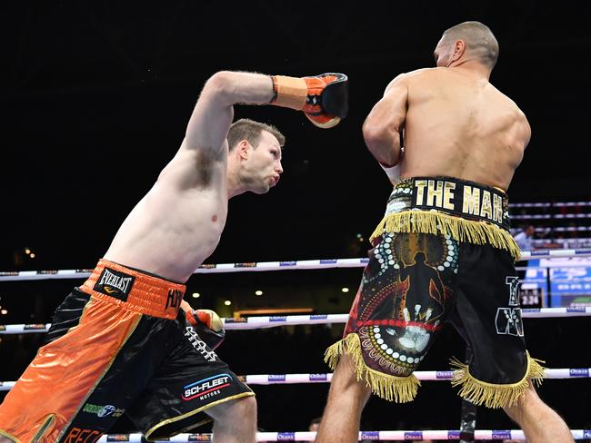 Jeff Horn vs Anthony Mundine knockout video: US reacts to