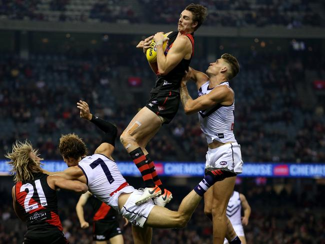 Joe Daniher hasn't been flying high lately.