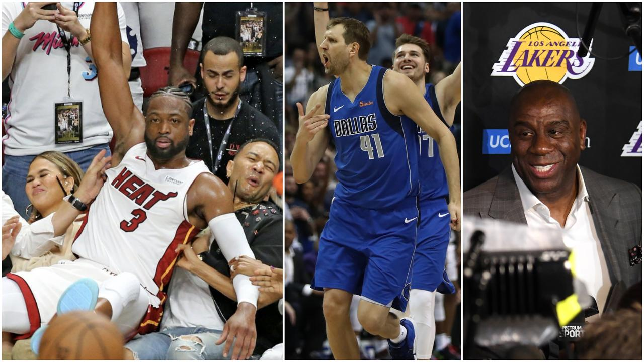 What a day of NBA action.