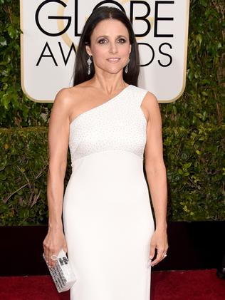 Snow White ... Veep star Julia Louis-Dreyfus. Picture: Getty Images