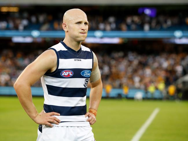 Malthouse said someone at the Cats will have to make a decision about Ablett's future sooner or later.