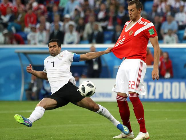 Ahmed Fathy had a moment to forget.