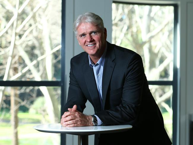 Bill Morrow, chief executive NBN says it's all about providing the vital upgrade path. Picture: Britta Campion.