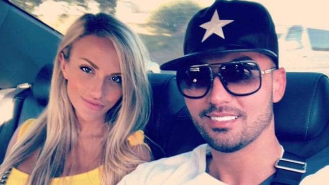 The pair hooked up on New Year's Eve. Picture: Salim Mehajer/ Instagram