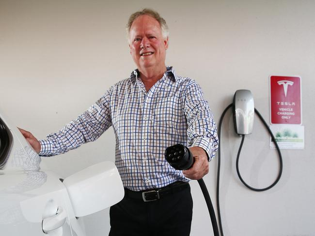 Experts warn the industry alone can't drive the electric car revolution. Picture: Brendan Radke