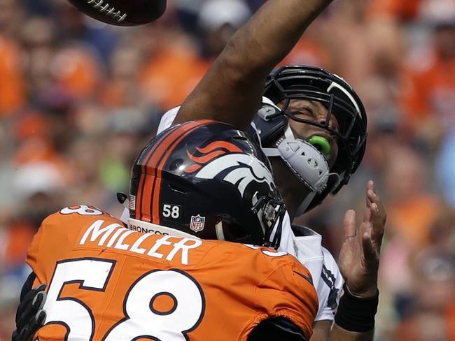 Von Miller is a scary man.