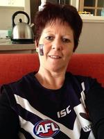 Caroline Brinded sent us this picture of her showing off her Purple Friday colours.