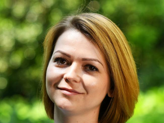 Yulia Skripal was poisoned with a nerve agent in Salisbury along with her father, Russian spy Sergei Skripal. Picture: Dylan Martinez - WPA Pool/Getty Images