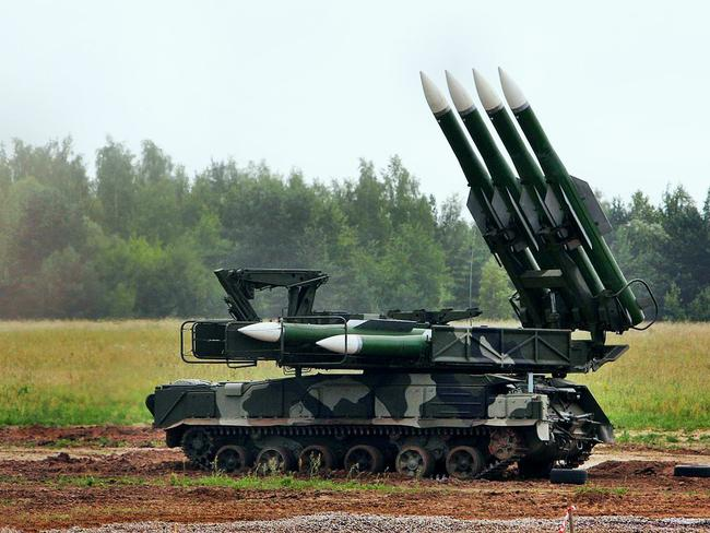 Photo showing a BUK missile system. This weapon platform was responsible for bringing down MH17.